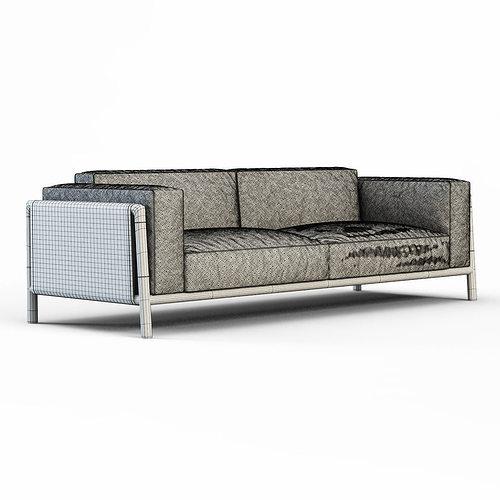 ... Sofa Urban By Giorgetti 3d Model Max Obj Fbx Mtl 7 ...
