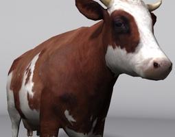 animal cow 3D asset