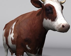 animal cow 3D asset