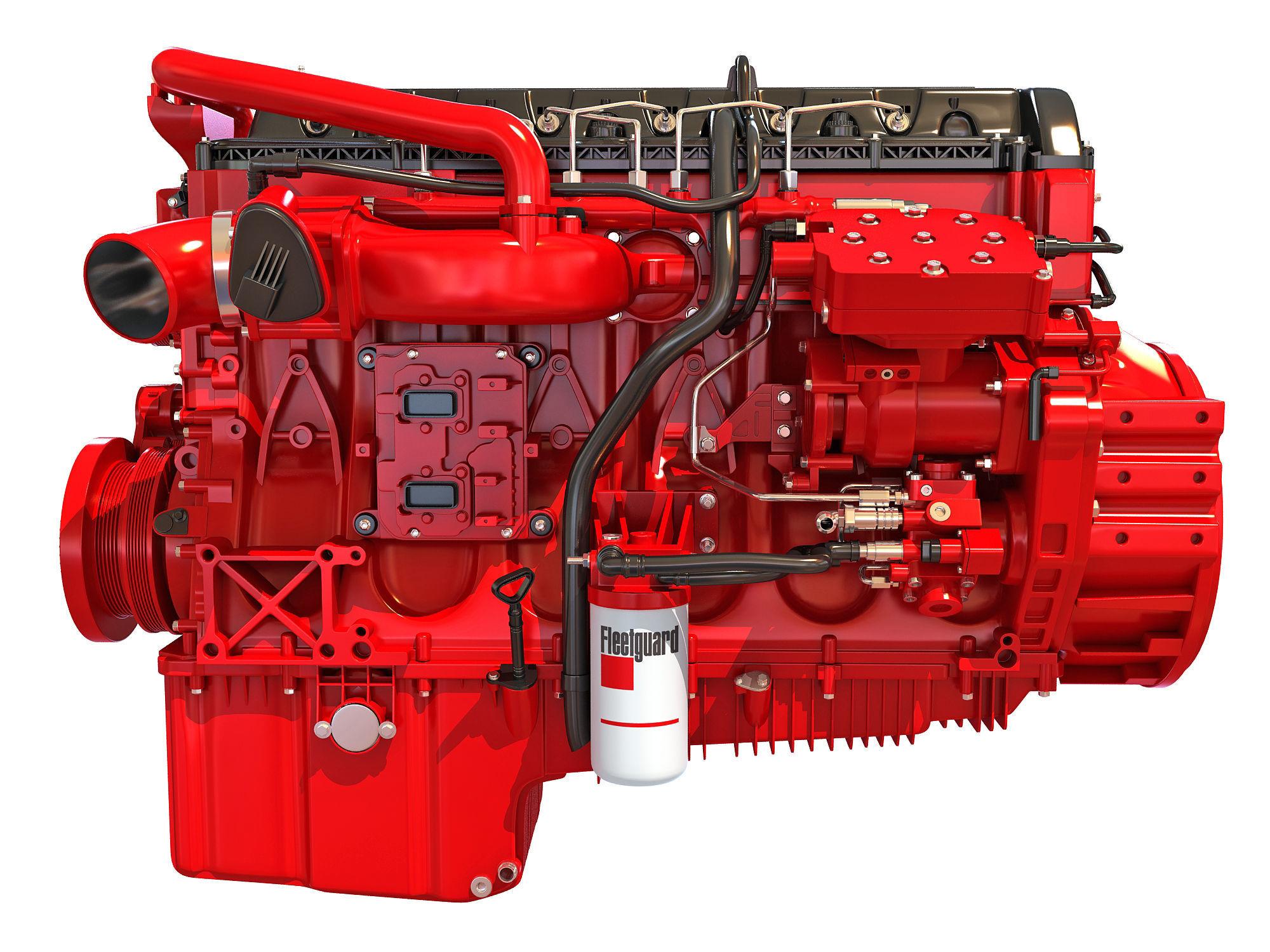 Cummins X12 Truck Engine