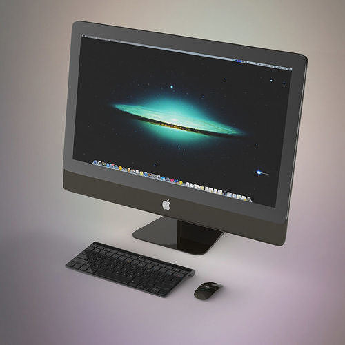 apple imac pro 3d model max obj mtl fbx c4d ma mb 1