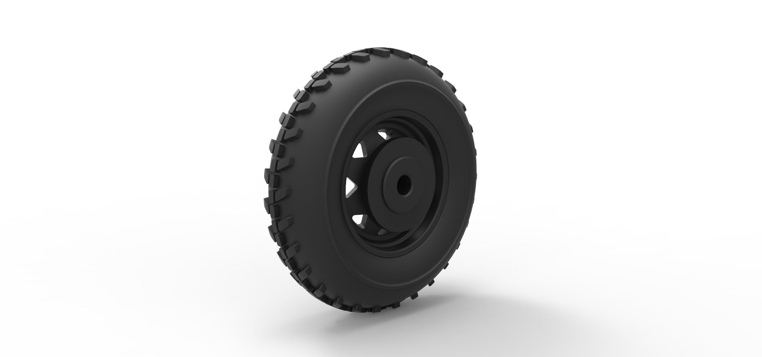 Cast Front Wheel For Dune Buggy 2 Print Model