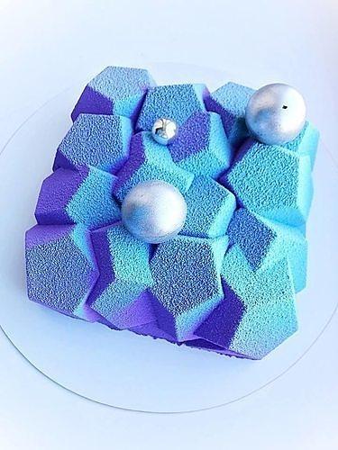 Emerald silicone bake form