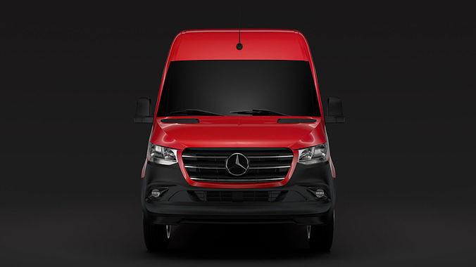 Mercedes Benz Sprinter Panel Van L3H2 RWD 2020