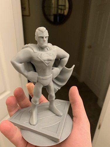 Superman 3D Print