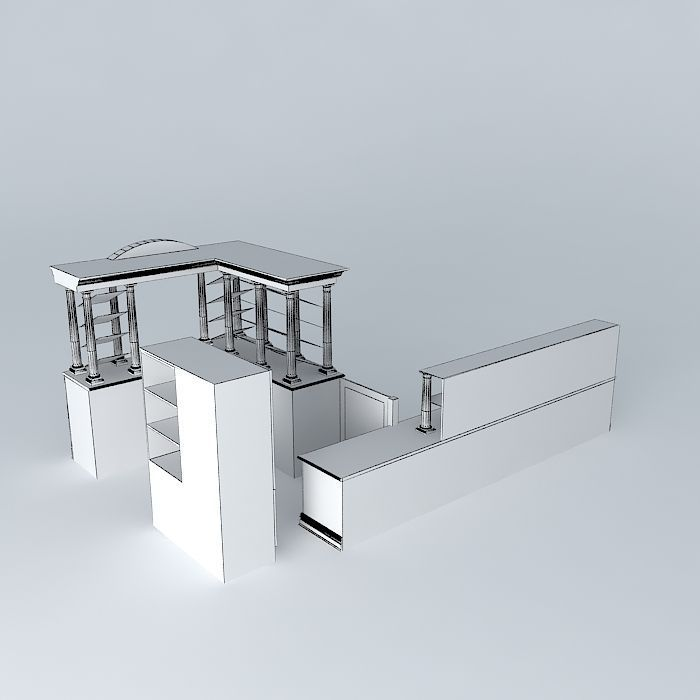 Furniture Free 3d Model Max Obj 3ds Fbx Stl Dae