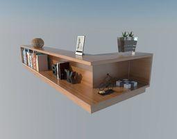 3D model sofa sideboard