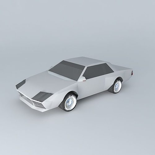 Sports Car 3d Model Cgtrader