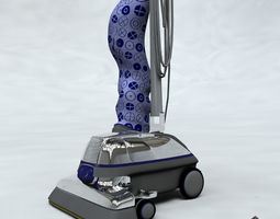 Vacuum Cleaner Violet 3D model