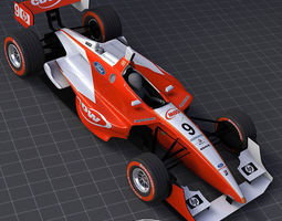 2006 Champ Car CDW-RuSport Team 3D