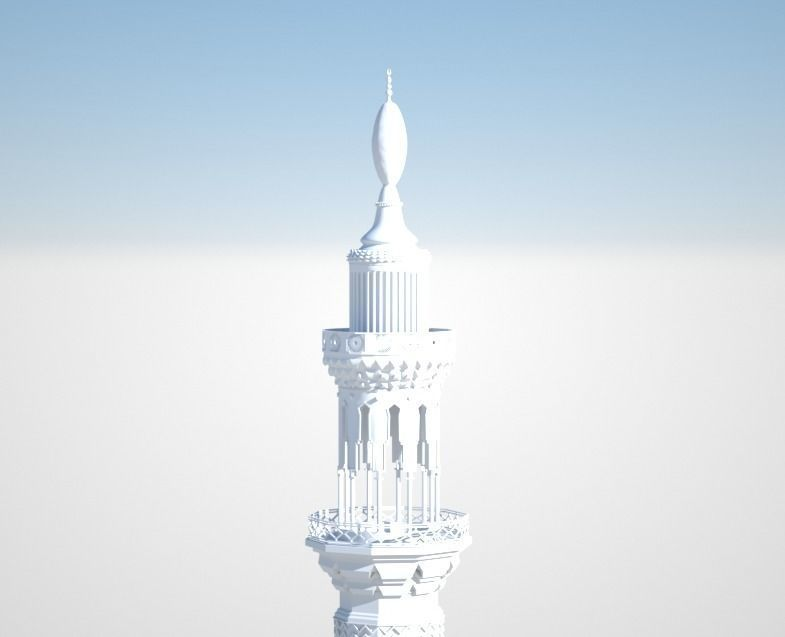 islamic Mosque tower