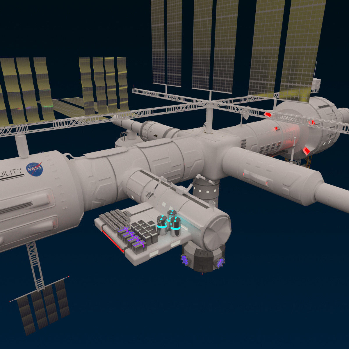 space station 3d models - photo #15