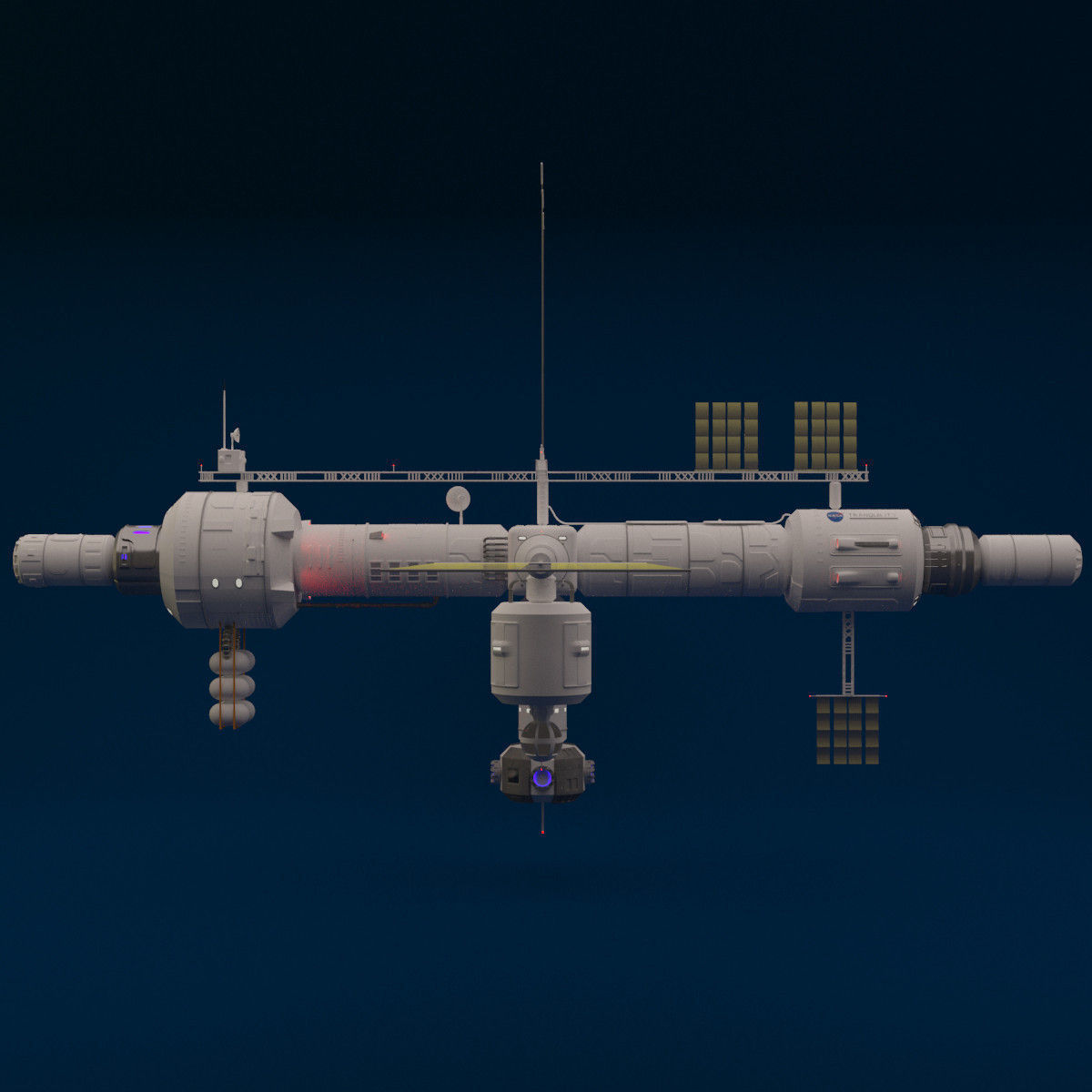 space station 3d models - photo #9