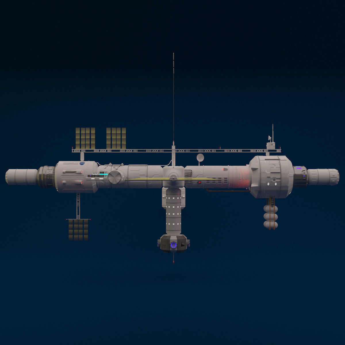 space station 3d models - photo #12