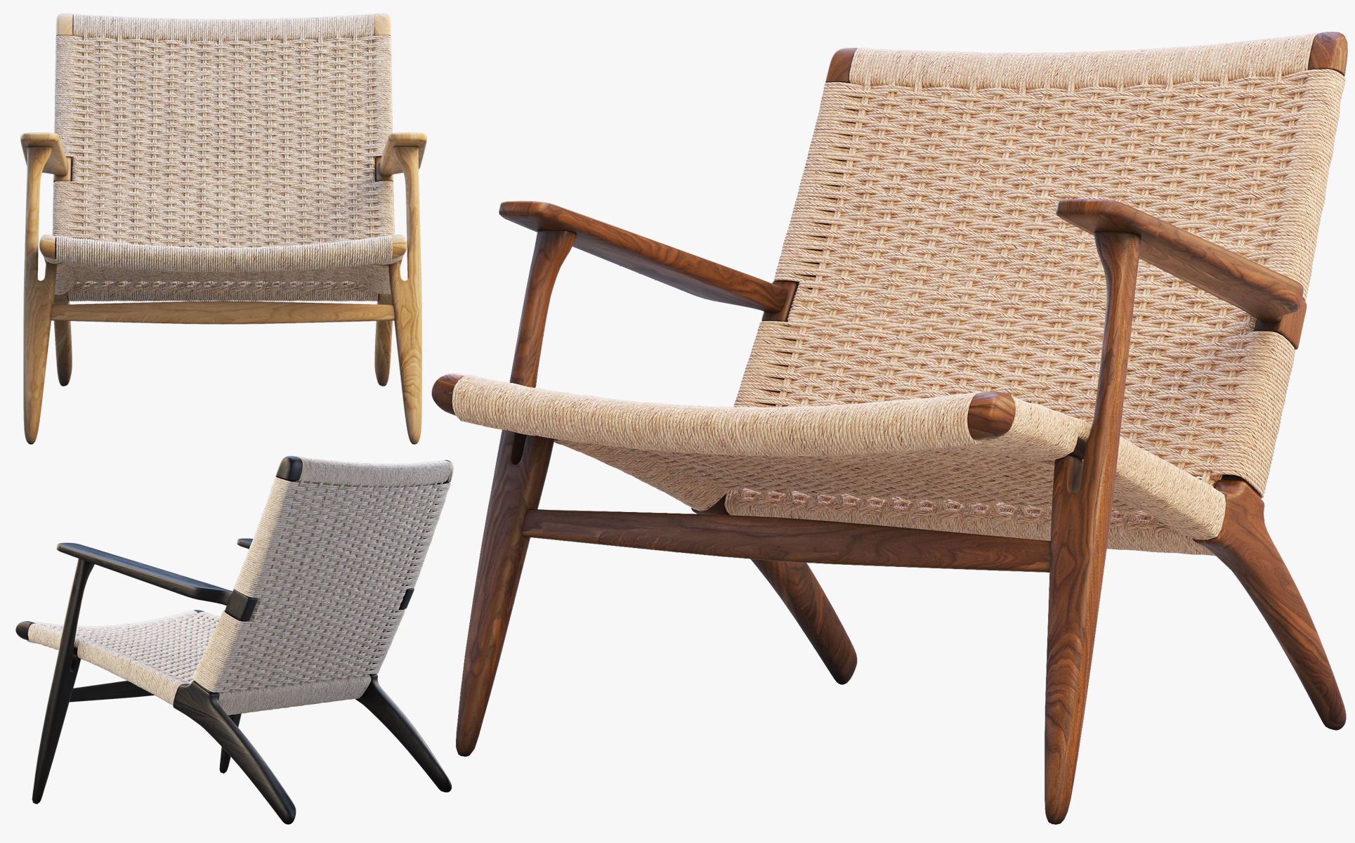 CH25 Lounge Chair 4 options