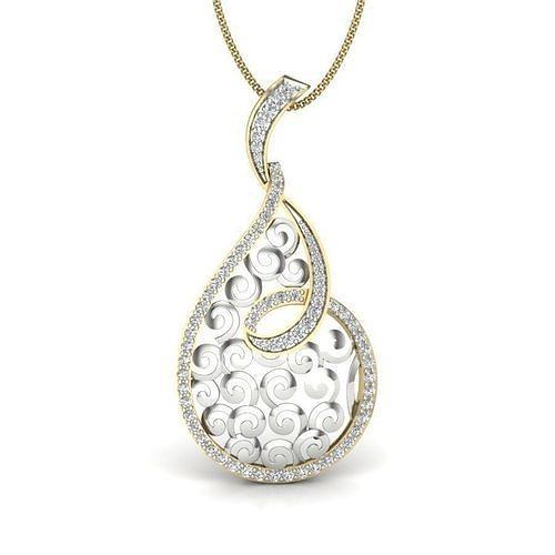 Diamond Pendant For Ladies