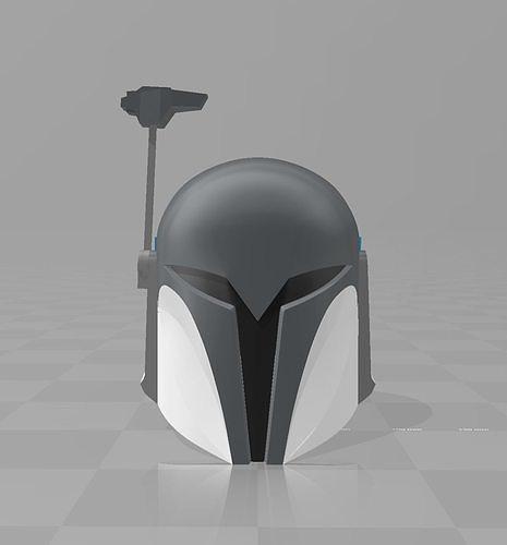 star wars clone wars nite owl bo katan Mandalorian Helmet