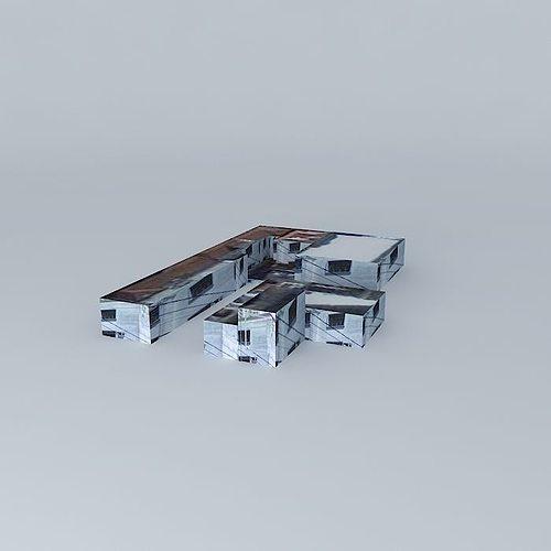 block in campinas-sp 3d model max obj 3ds fbx stl dae 1