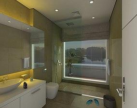 Modern Bathroom 3D