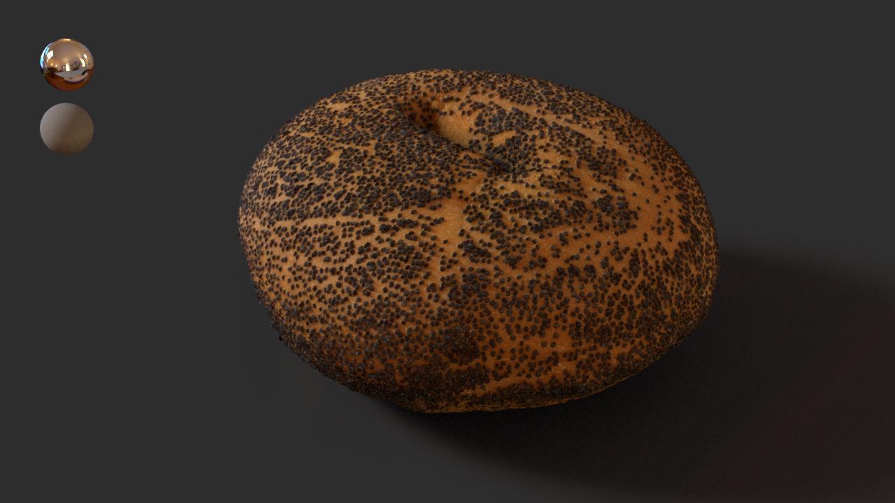 6- Poppy Seed Bagel