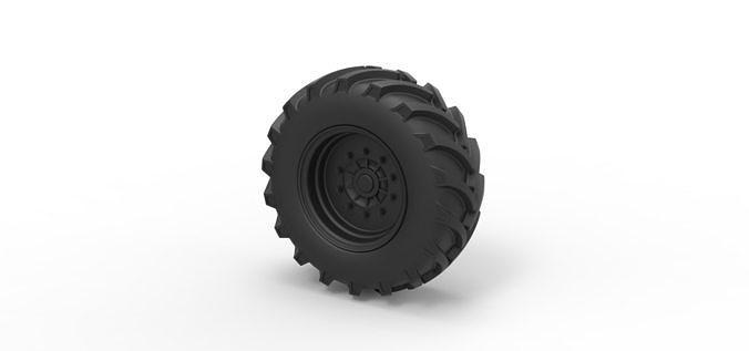 Diecast Offroad wheel 5
