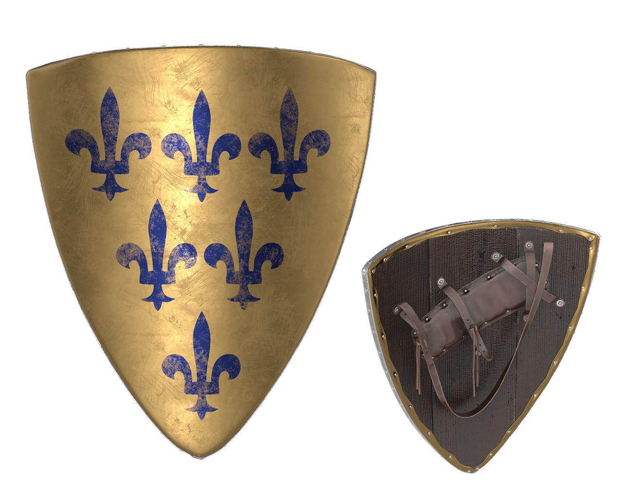 Triangular Knight Shield