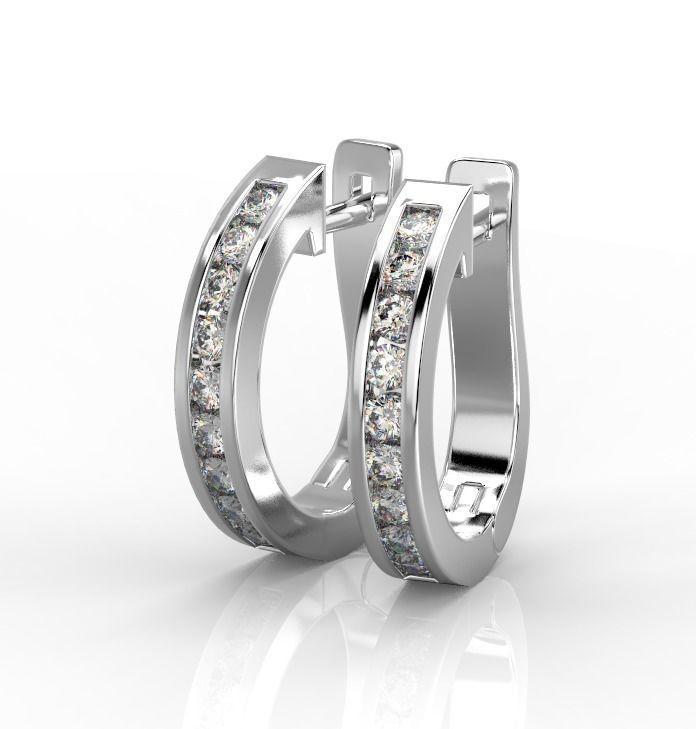 101212 E classic earrings