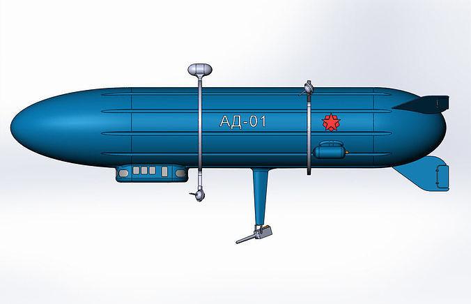 Dirigible-artillery