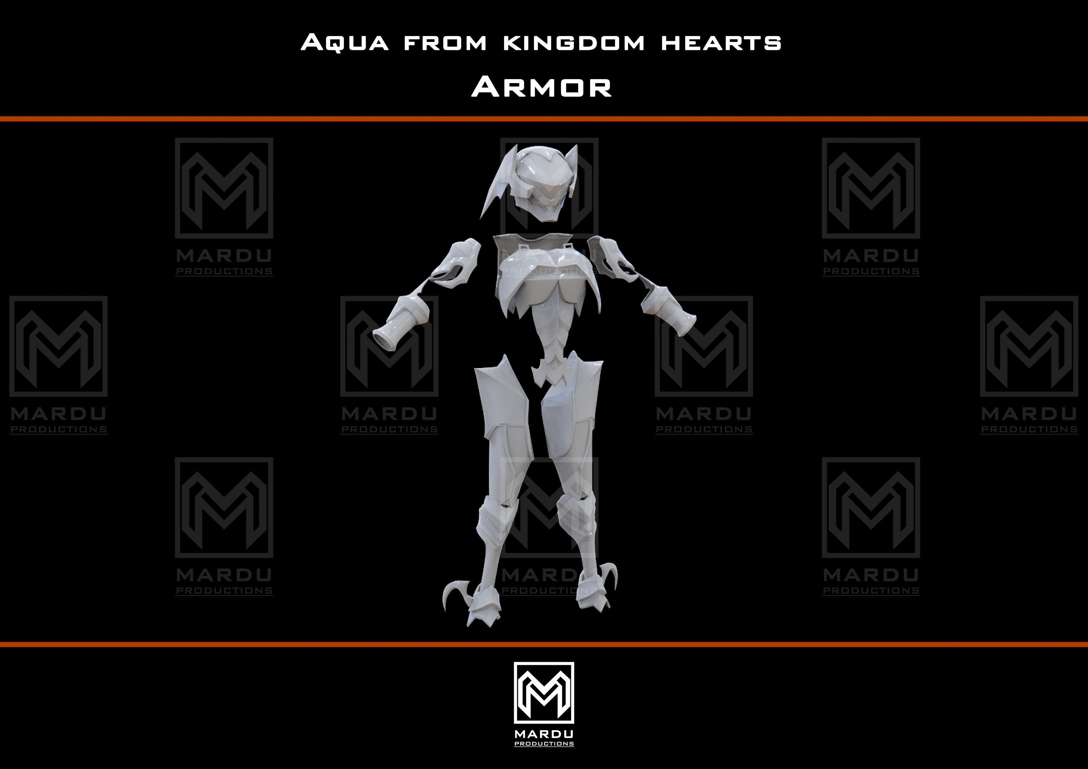 Aqua armor Kingdom Hearts