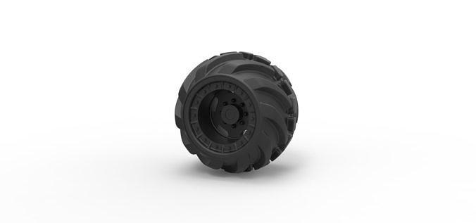 Diecast Offroad wheel 16