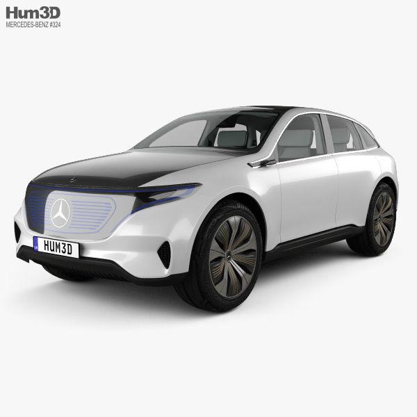 Mercedes-Benz EQ concept with HQ interior 2017