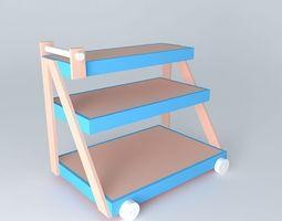 Room trolley 3D Model