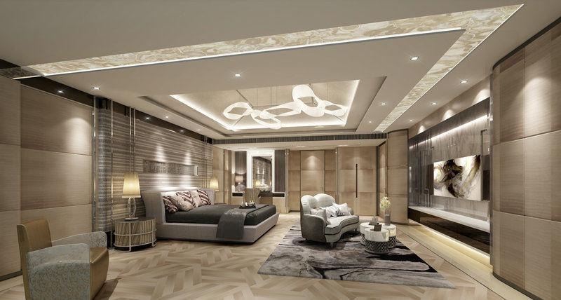 Interior design bedroom 3D   CGTrader on Model Bedroom Interior Design  id=89715