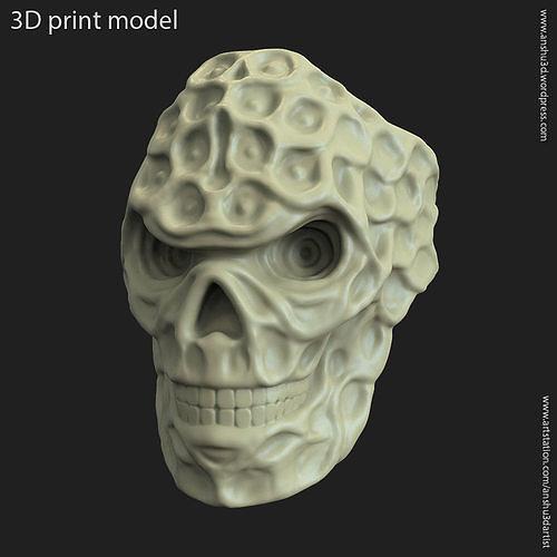 biker skull vol15 ring