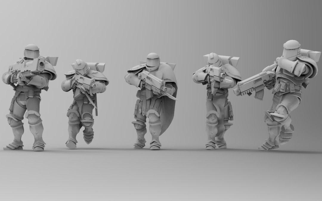 Knights of Roma - Frontline Riflemen
