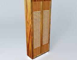 3D model Bath storage unit