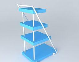 Trolley for medicenes 3D Model