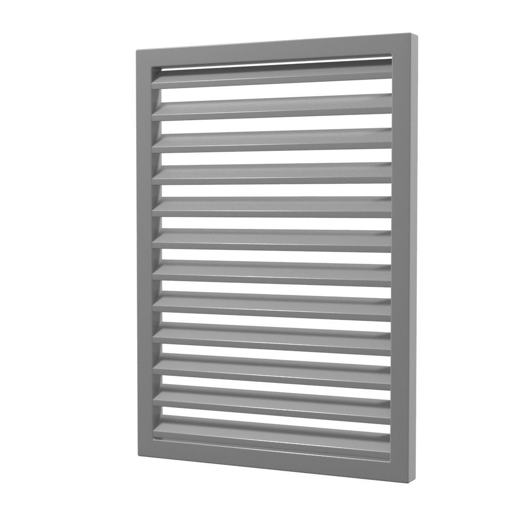 Louver Window Persiana Blind Low Poly 3d Model