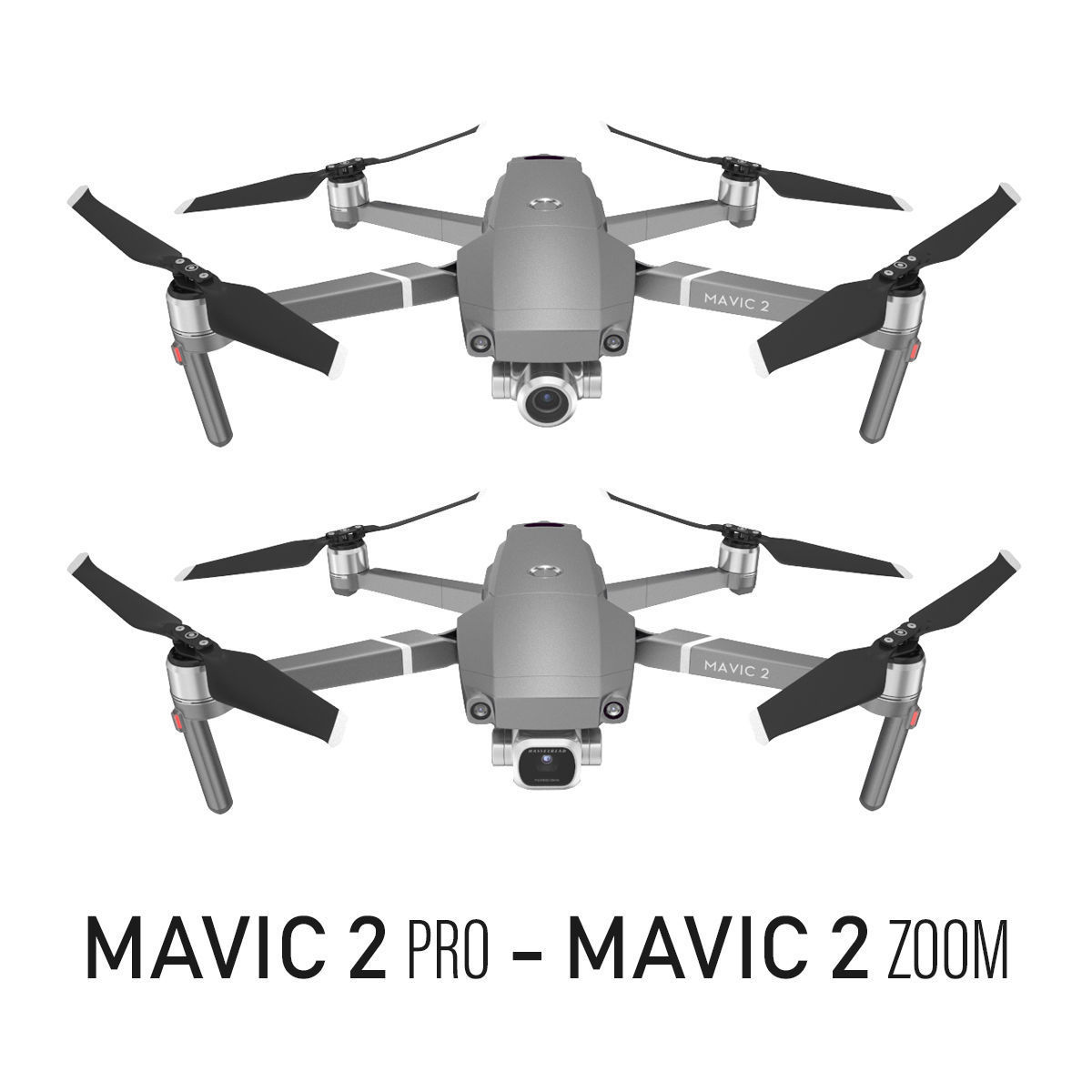 Mavic 2 Pro and Mavic 2 Zoom