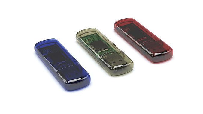 usb flash drive 3d model low-poly max obj mtl 3ds fbx stl mat 1