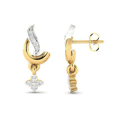 women earrings 3dm stl render detail 3d print model 3d model stl 3dm 1