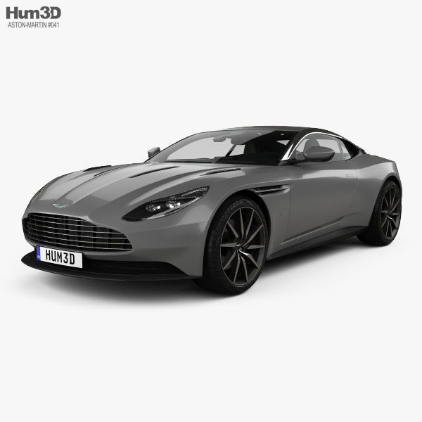 Aston Martin DB11 with HQ interior 2017