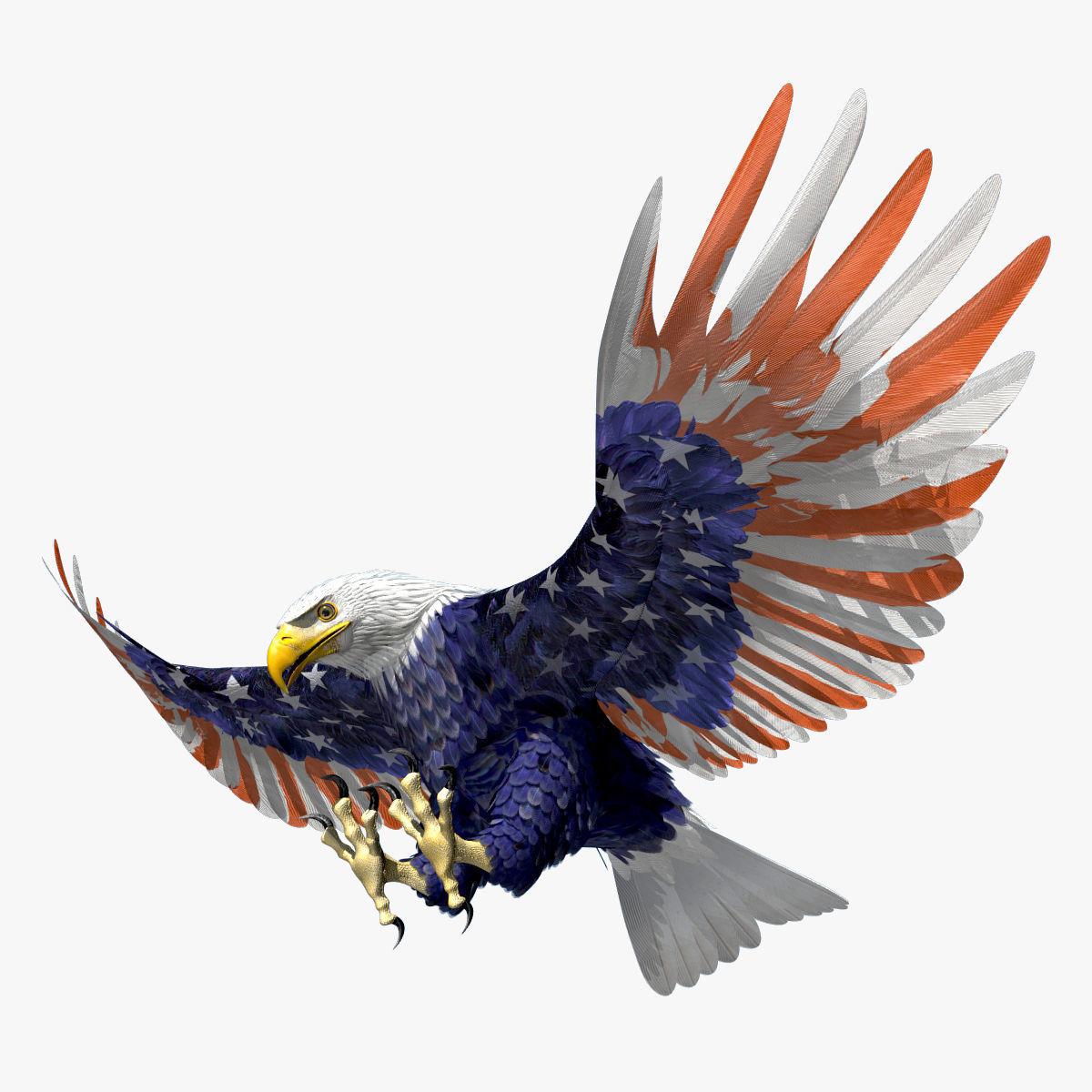 Bald Eagle 2 Stars And Stripes