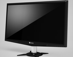 3D CGAxis LCD Monitor 02