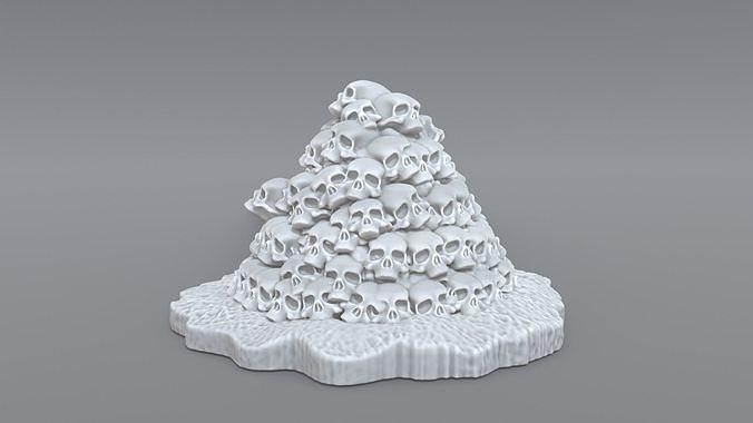 bunch skulls