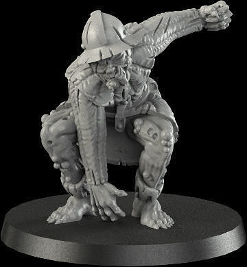 medieval ghoul 2 3d model stl 1