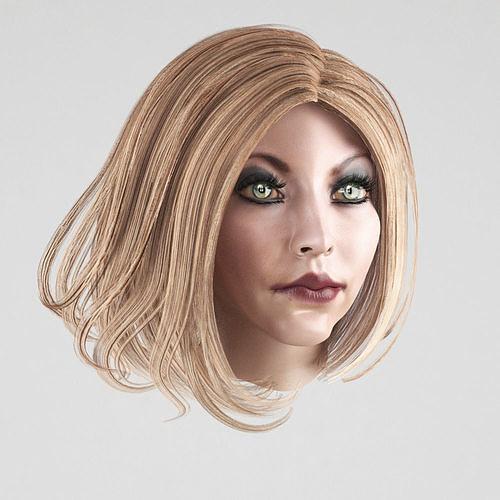 female-hair-3-colors-3d-model-low-poly-m