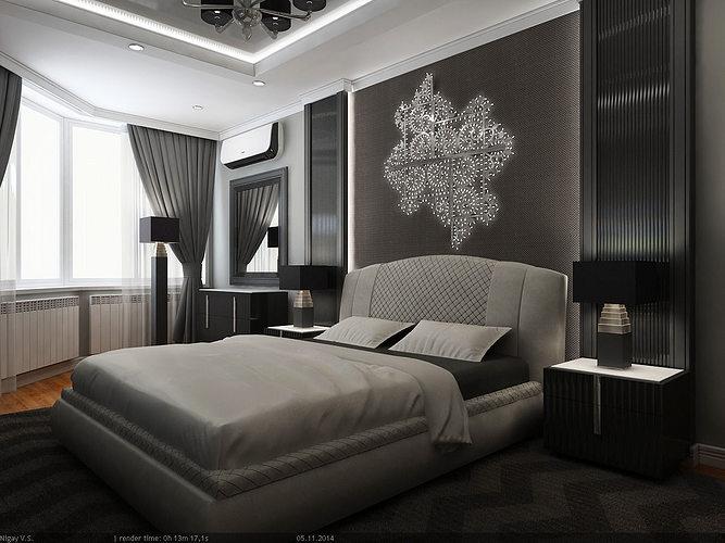 Interior Scene Flat 02 2 Bedrooms Model