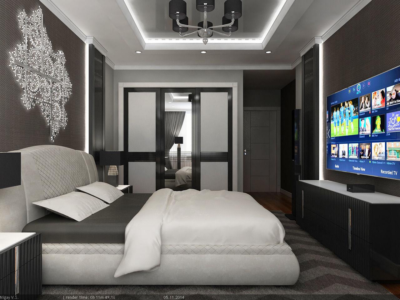 interior scene   flat 02   2 bedrooms 3d model max obj mtl 5. 3D model Interior Scene   Flat 02   2 bedrooms   CGTrader