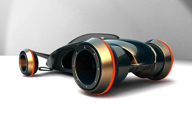 future car concept 3d model max obj mtl 3ds 1